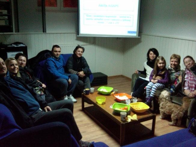 Održan sastanak humanitarnog tima Agape