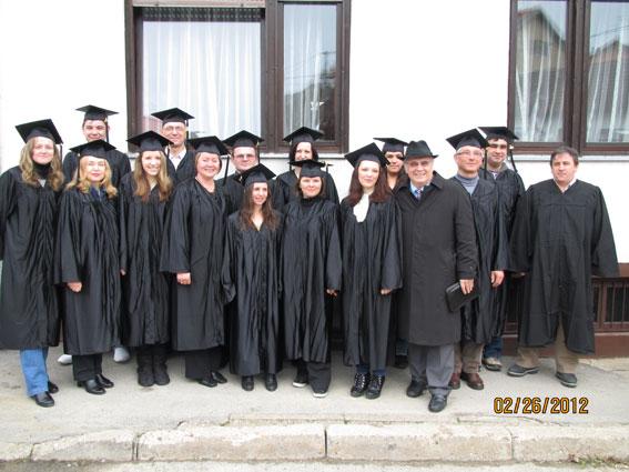 Promocija i podjela diploma studentima ISOM-a u Vukovaru