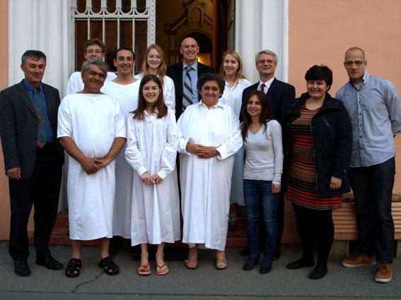 Krštenje u Osijeku