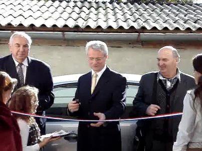 Svečano otvorenje Doma za umirovljene duhovne djelatnike, Belišće