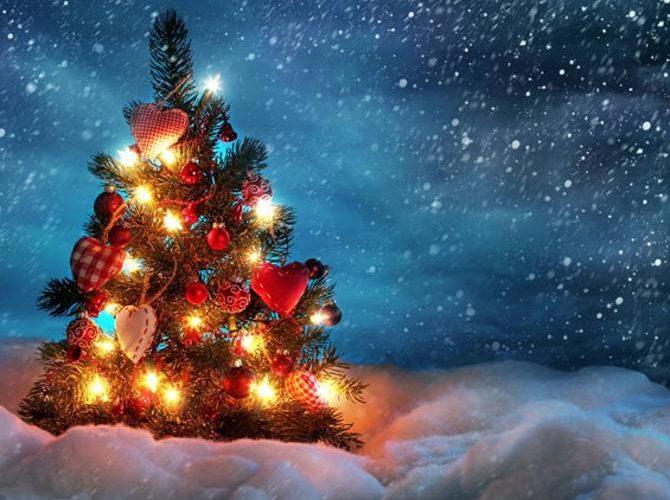 Božićna čestitka i zahvala, akcija Agape