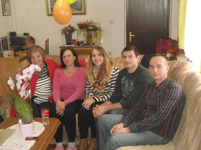 Posjet najuzornijoj ženi u Hrvatskoj