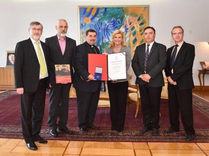 Izaslanstvo zahvalilo predsjednici RH Kolindi Grabar-Kitarović
