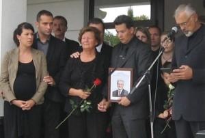 Posljednji ispraćaj i sahrana Mladena Jovanovića