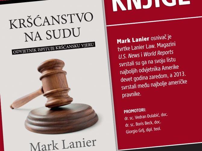Promocija knjige Kršćanstvo na sudu